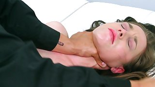 Savage audition for porn role with amateur Tiffany Star