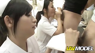 Nut Busters - Japanese Nurses Ejaculate Get together Teen Penises