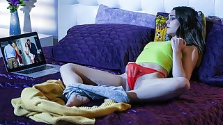 Aften Opal in Plugged up Her On Cam - TeensLoveHugeCocks